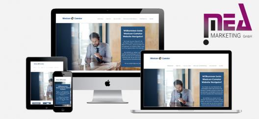 Kundenreferenz - Westcon-Comstor Website Navigator