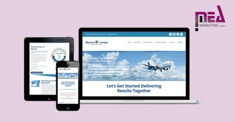 Kundenreferenz - Westcon Deutschland Cloud PBX Microsite